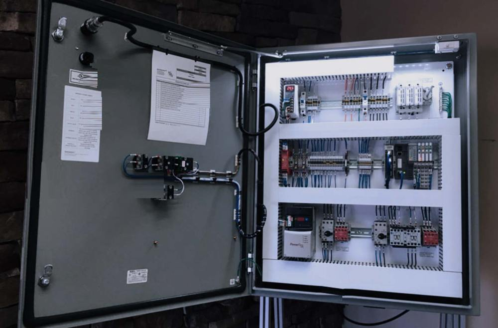 medium resolution of look inside our electrical control panel quality