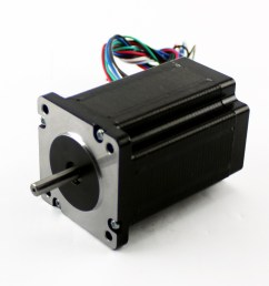 nema23 425oz in 2 8a stepper motor dual shaft kl23h286 20 [ 1024 x 1024 Pixel ]
