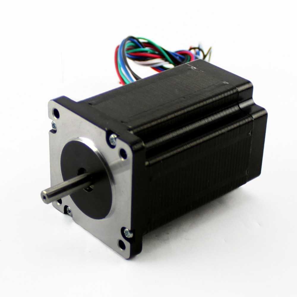 medium resolution of nema23 425oz in 2 8a stepper motor dual shaft kl23h286 20