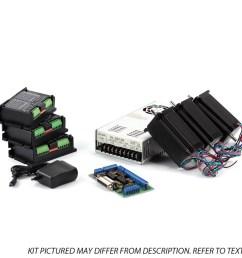3 axis nema23 cnc kit 48v 7 3a 270 oz in [ 1024 x 1024 Pixel ]