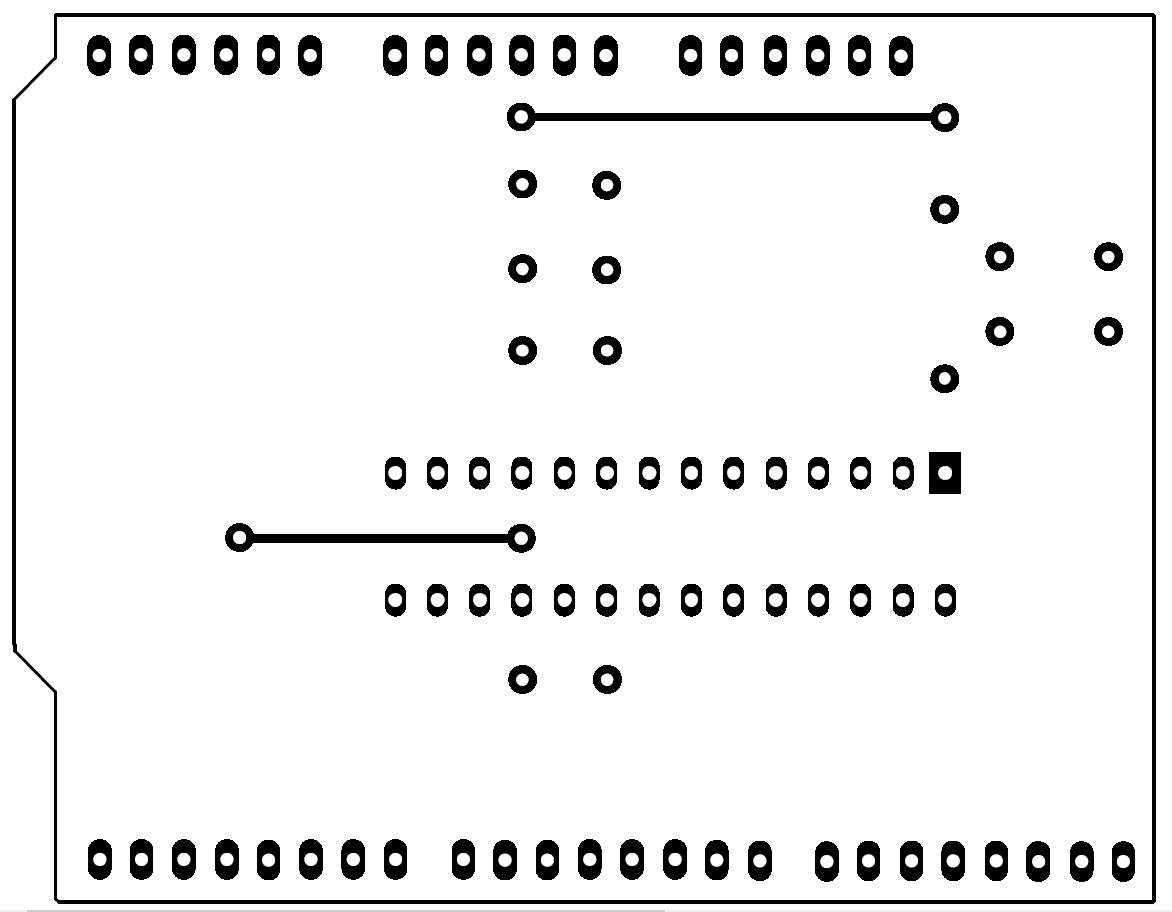Shield MicroLadder para Arduino UNO
