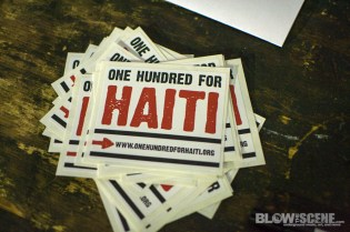 one hundred for haiti
