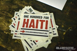 one hundred for haiti