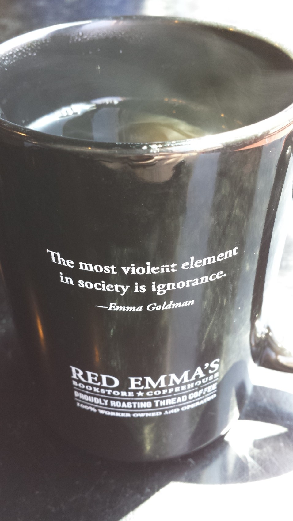 Coffee at Red Emma's
