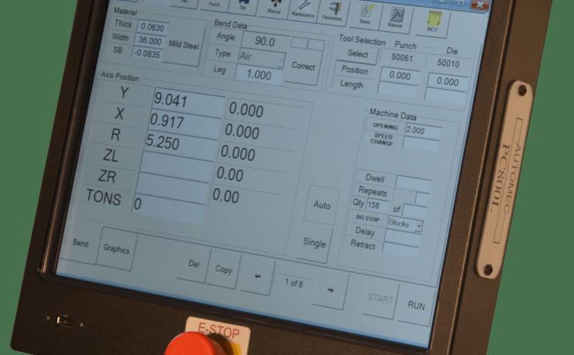 PC 800 CNC Backgauge Controls for Press Brakes