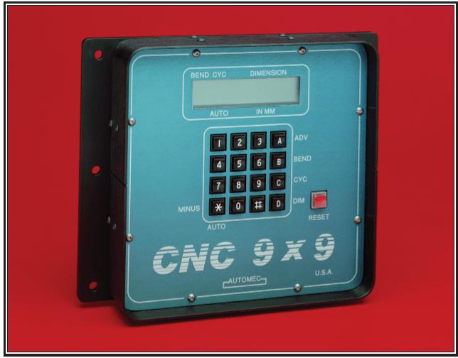 CNC 9 bend backgauge control
