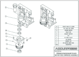 Premium Backgauge R Axis Motor Side Carriage Assembly