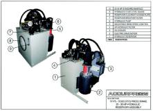 70175 - 70320 (STD) Press Brake 20-30 HP Hydraulic Reservoir (Tank) Assembly