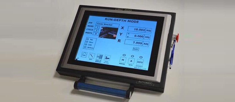 Introducing the Automec CNC 600 touch screen backgaugecontrol