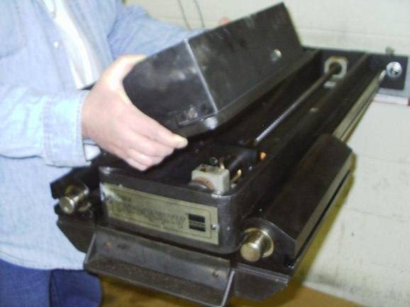 Hurco Backgauge S6 Flipped Upside Down