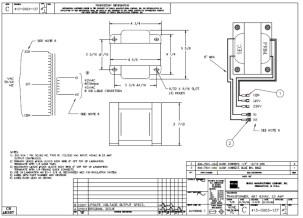 HURCO Transformer, 43 VAC 413-0003-137