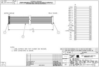 HURCO Harness, AB7 Relay IO 423-0203-001