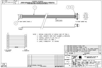 HURCO Harness, RS-232 423-0205-001