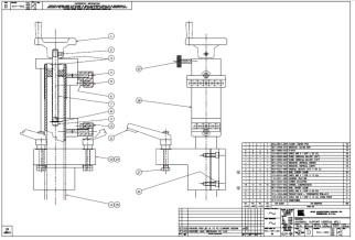 HURCO Vertical Support 001-1452-001 thru 004