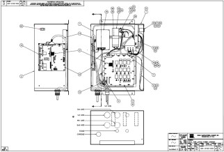 HURCO Autobend 6 - Large Power Cabinet - Internal View -Parts and Components- 001-2102-002