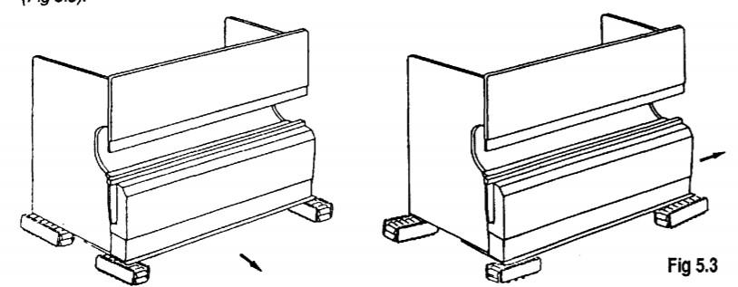 Amada Promecam Press Brake Installation Fig 5.3