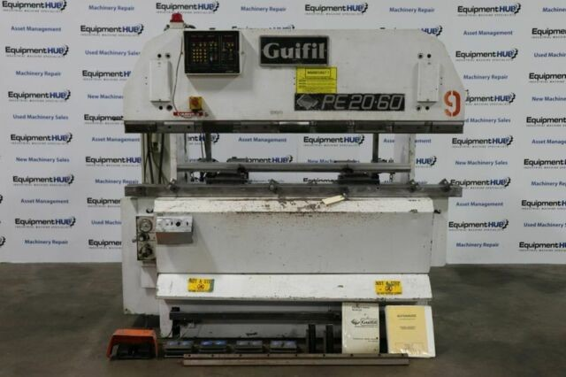 "Guifil PE-20/60 80"" x 66 Ton CNC Hydraulic Up-acting Press Brake equipped with Automec Autogauge CNC1000 Backgauge"