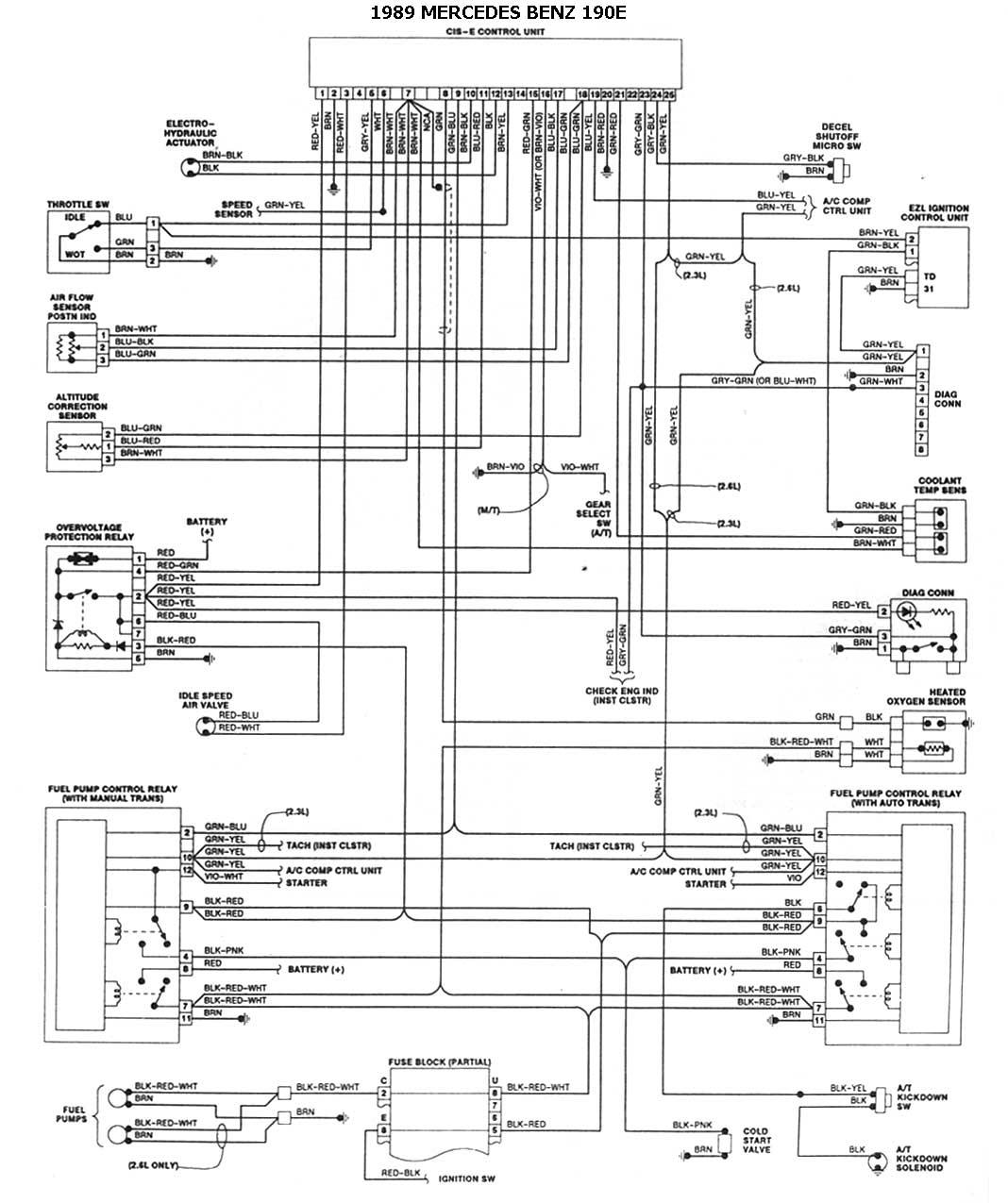 1999 mercedes c230 engine diagram