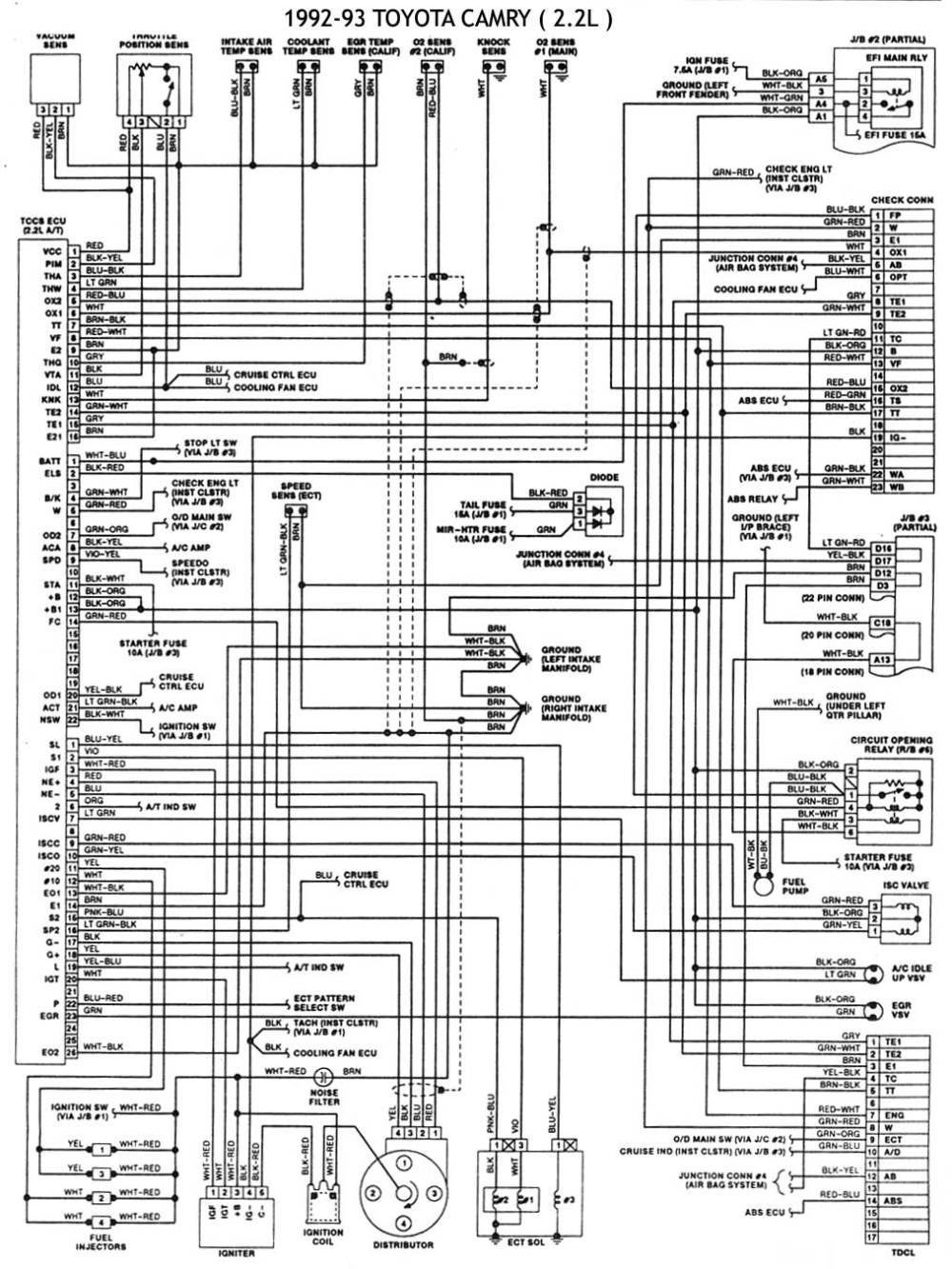 medium resolution of 93 toyota corolla engine diagram get free image about 93 toyota corolla radio wiring diagram 94
