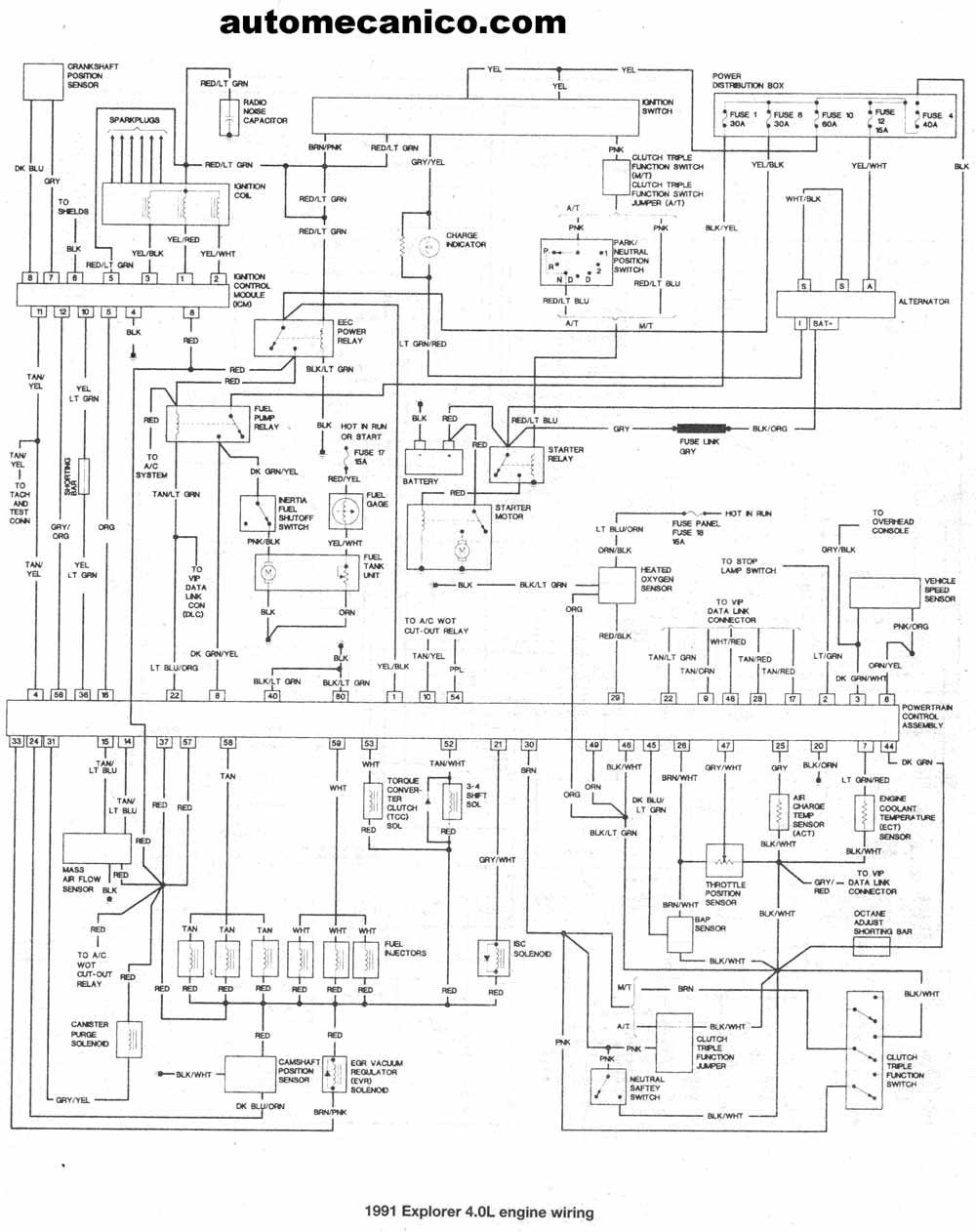 motorcraft fuse panel diagram