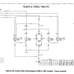 1992 Toyota Pickup Wiring Diagram Trailer Electric Brakes Ford Tempo Get Free Image About