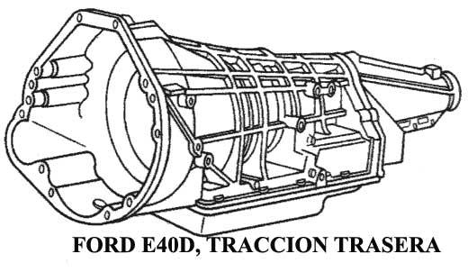 FORD|TRANSMISIONES AUTOMATICAS|COMPONENTES,DESPIECE