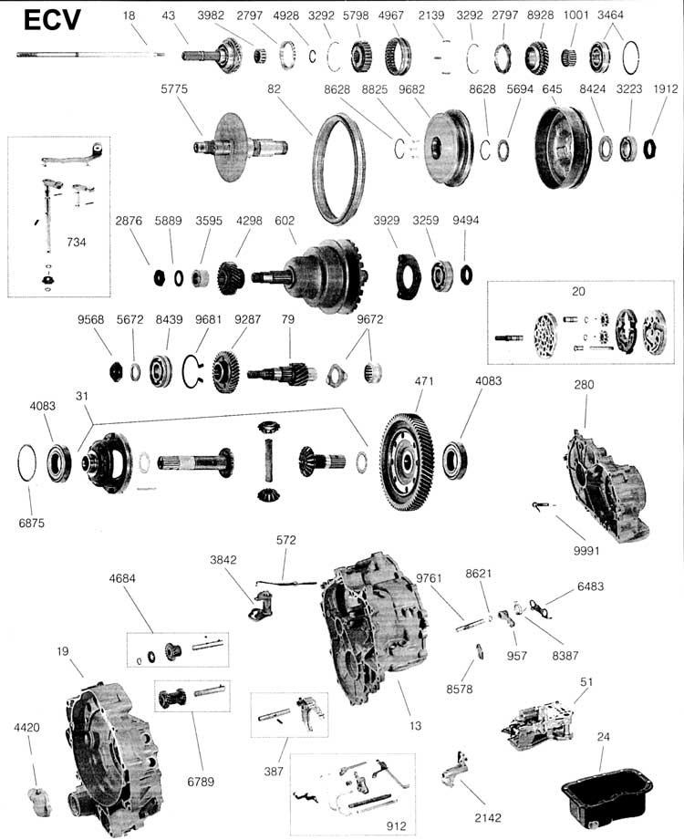 2004 Toyota Corolla Automatic Transmission