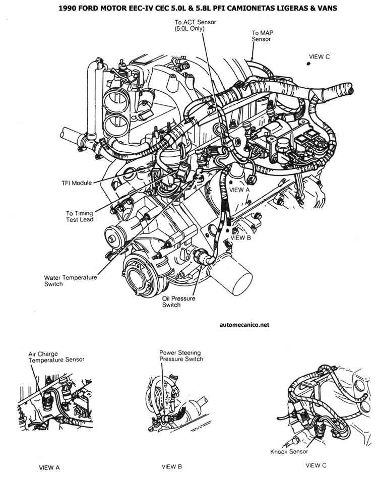 Ford 2 3 Edis Ignition Wiring Diagram. Ford. Auto Wiring
