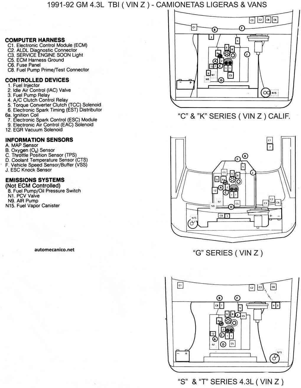 Gmc Wiring Harness 43l Ac Heater Wiring To Ramsey Vr8000