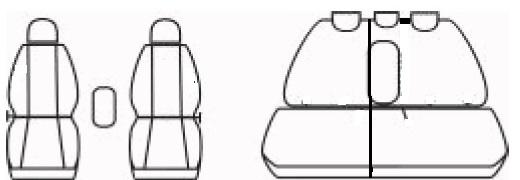 AUTOPOTAHY NA MÍRU : Autopotahy Fiat Stilo 5-dveř, se