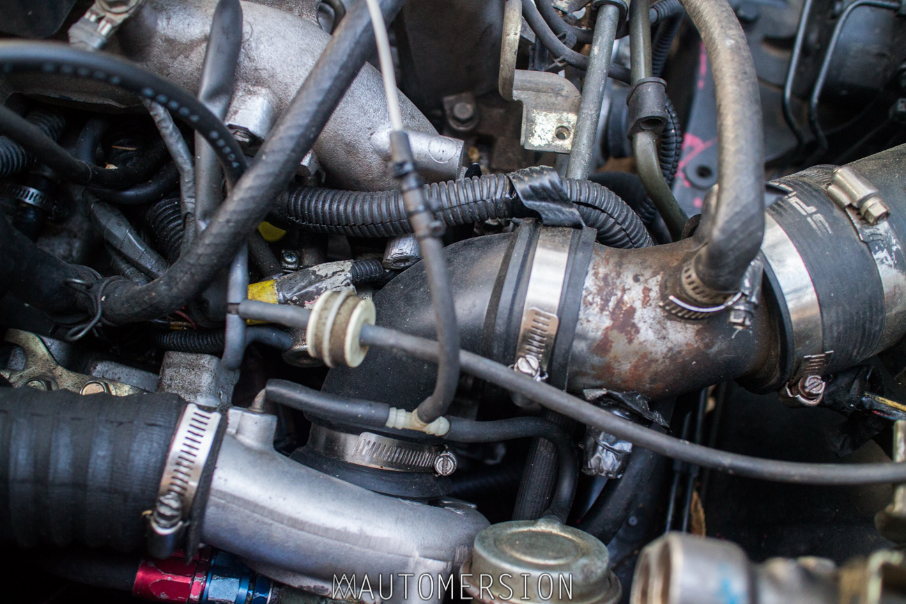 hight resolution of custom intake on turbo subaru wagon