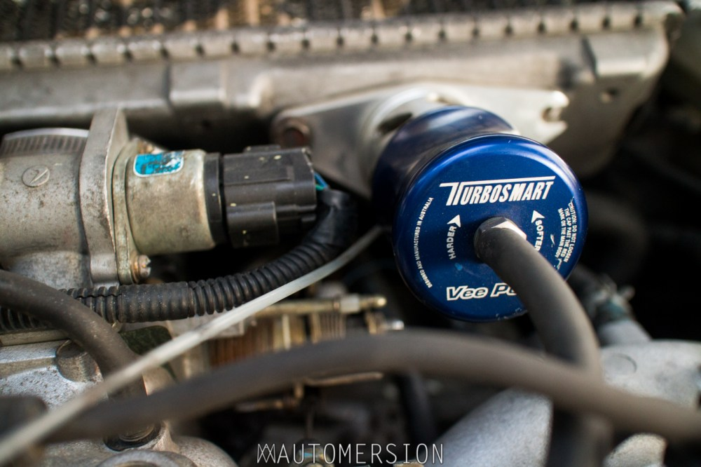 medium resolution of turbosmart veeport blow off valve on subaru impreza wagon