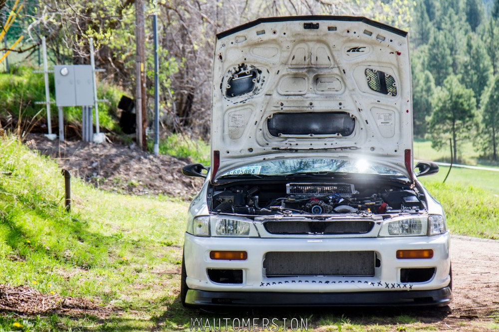 medium resolution of subaru impreza wagon with turbo kit