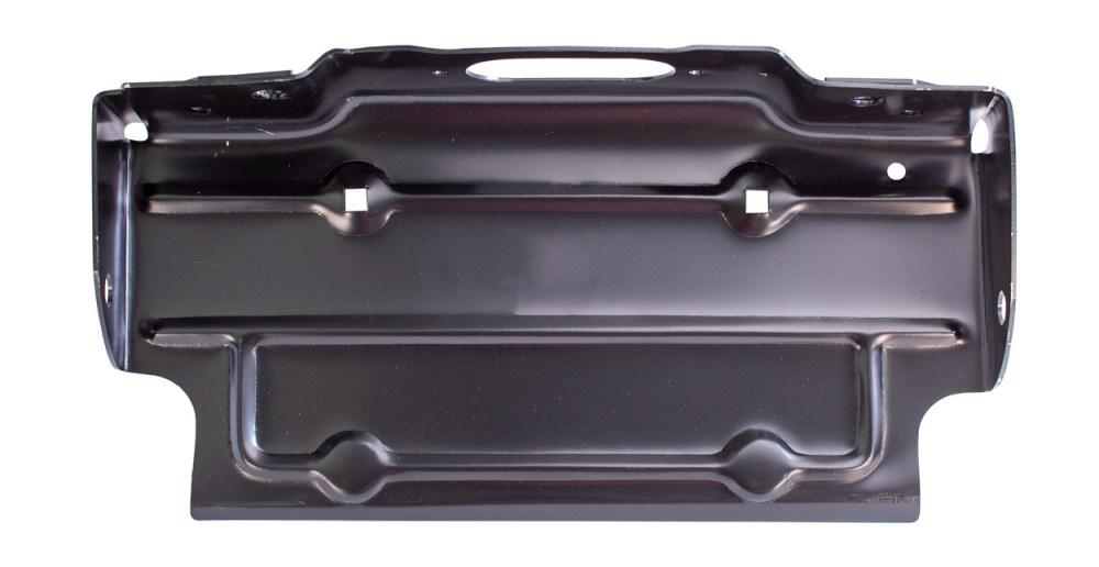 medium resolution of rear license plate bracket black 67 86 chevy gmc c k fleetside