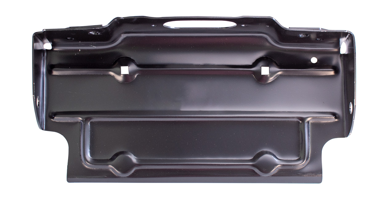 hight resolution of rear license plate bracket black 67 86 chevy gmc c k fleetside