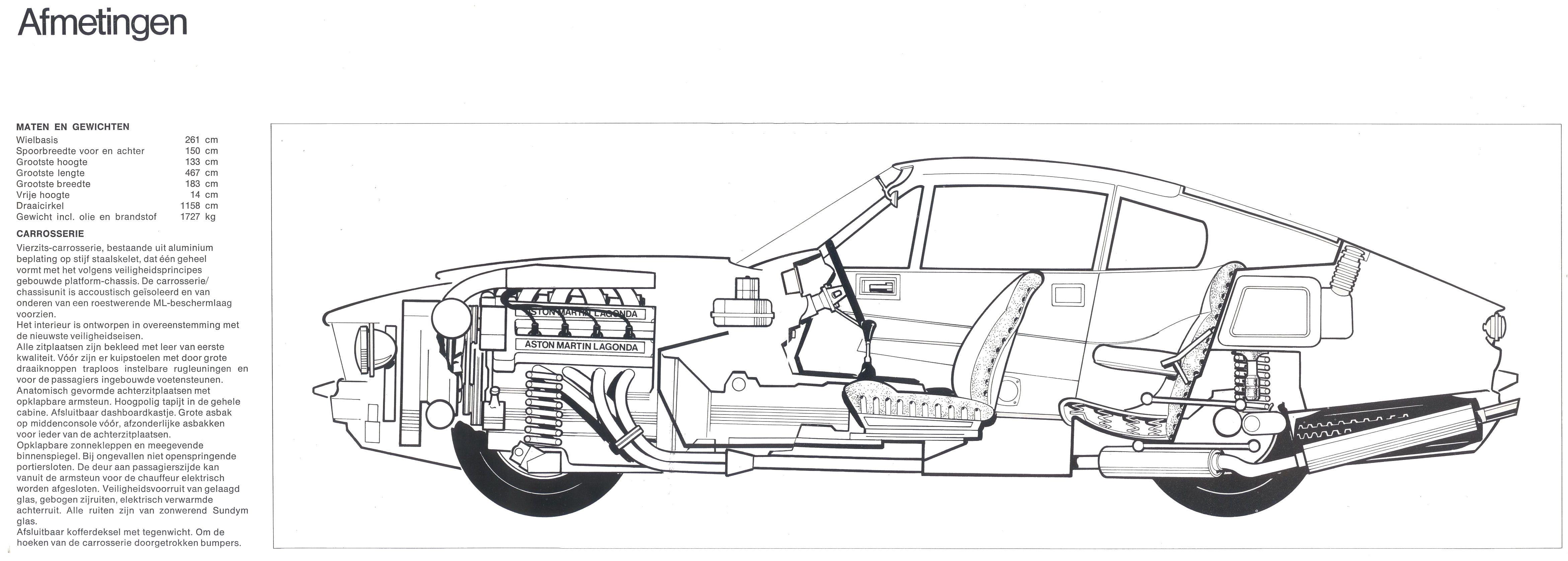 1978 Aston Martin V8 brochure