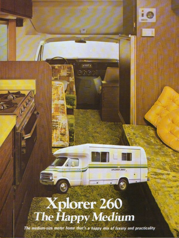 1976 Xplorer Motorhome - Year of Clean Water