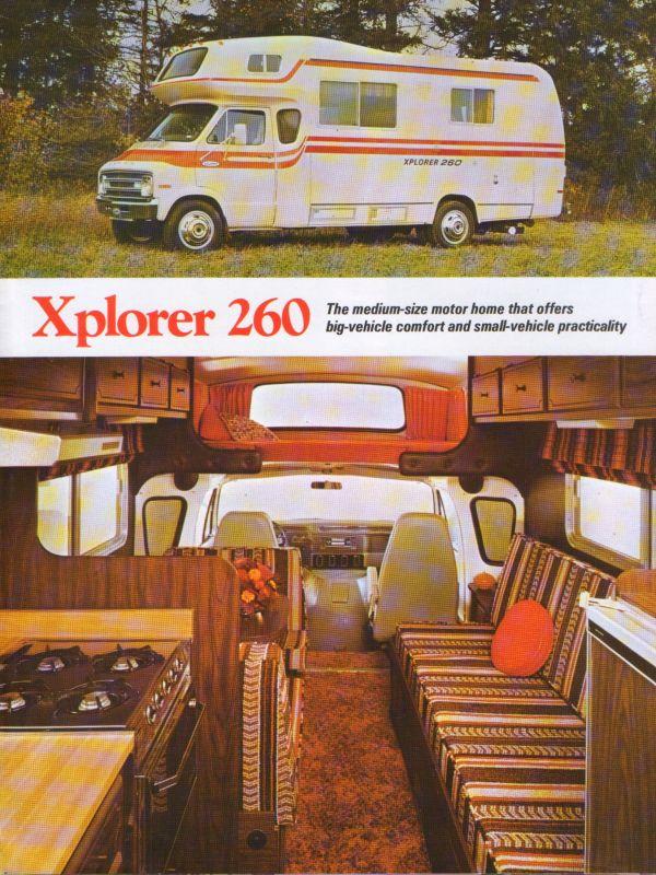 1976 Xplorer Motorhome - Year of Clean Water