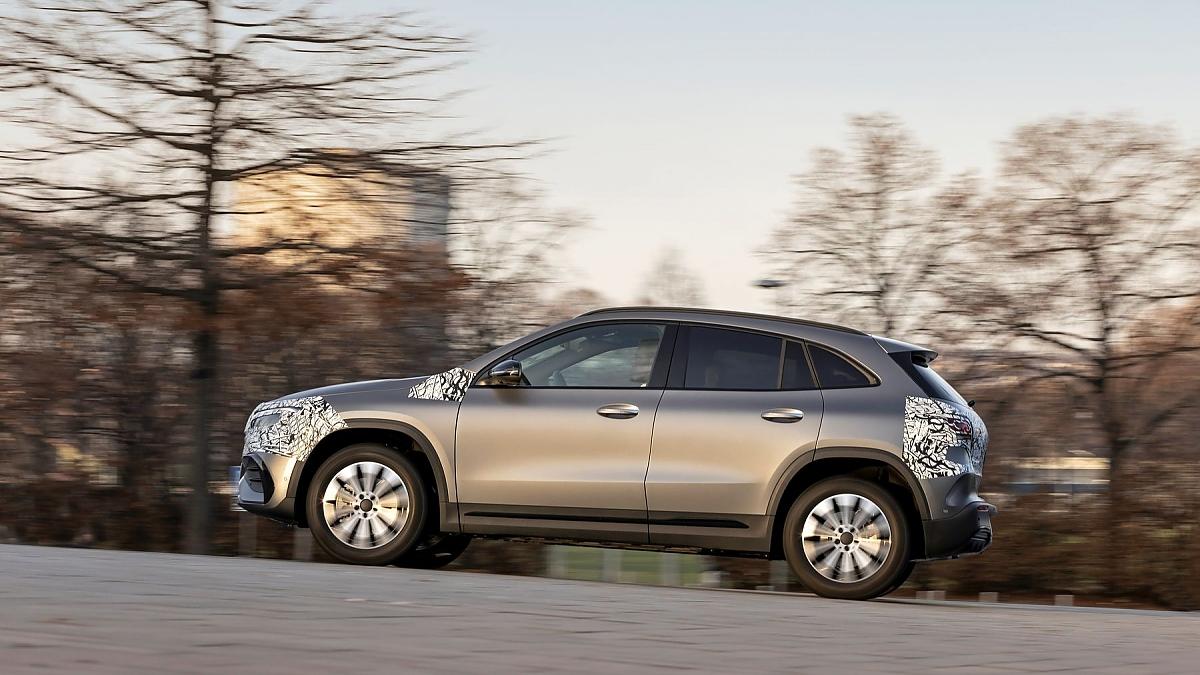 Mercedes EQA: Ausgereifter als der EQC