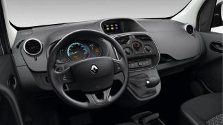 Planche de bord du Renault Kangoo électrique