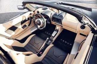 La Tesla Roadster vue de l'intérieur