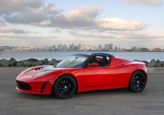 La Tesla Roadster, la voiture de sport que vous pouvez recharger