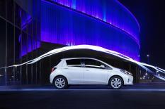 La ligne soignée de la Toyota Yaris Hybride