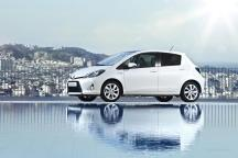 La Yaris hybride Toyota affiche un coefficient de pénétration dans l'air (Cx) de 0,286.
