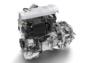 Photo Le moteur essence 1,5 litre de la Yaris Hybride