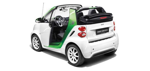 La Smart Electric Drive Cabrio