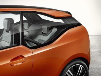 La vitre arrière de la BMW i3 coupé : on aime ou on n'aime pas...