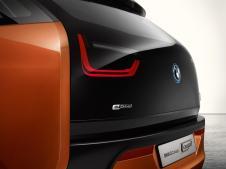 Les feux arrière particuliers de la BMW i3 Coupé