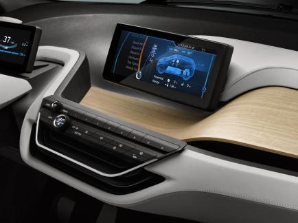 L'intérieur de la BMW i3 Coupé fait la part belle aux matériaux renouvelables