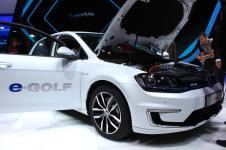 La Volkswagen e-Golf présentée au salon de Francfort 2013